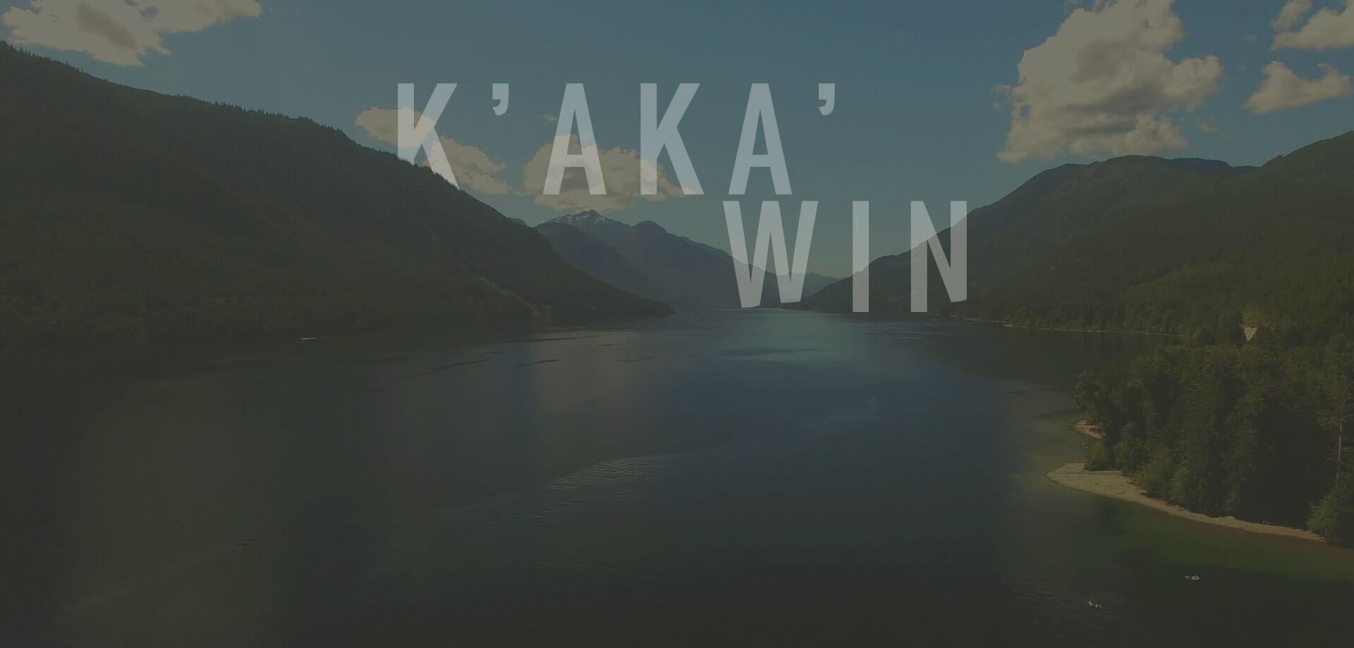K'aka'win, île de vancouver, comlombie-britanique